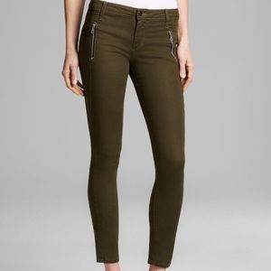 Joe's Rollin Zip Pocket Skinny Jeans Sz 25